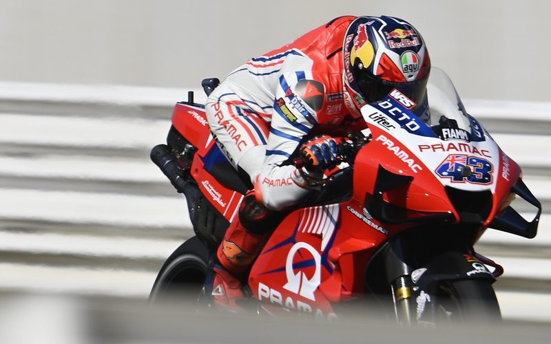 Pramac-Pilot Jack Miller führte das Ducati-Lager im Qualifying ganz knapp an