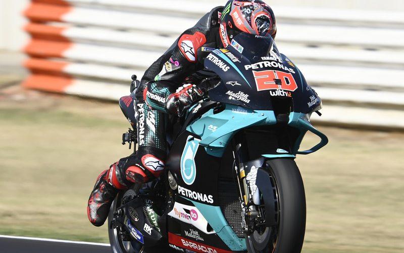 Fabio Quartararo war einen Tick schneller als Teamkollege Franco Morbidelli
