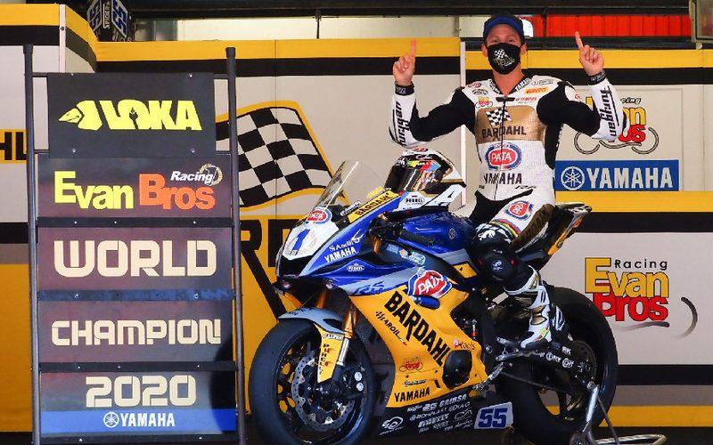 Supersport-Champion Andrea Locatelli steigt in die Superbike-WM auf