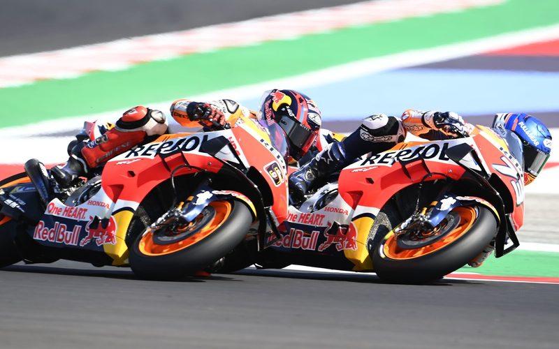 Repsol-Honda ist in der Teamwertung auf dem letzten Platz