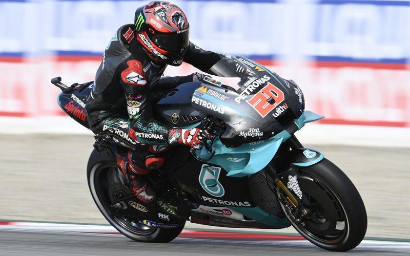 Fabio Quartararo gab im dritten Freien Training der MotoGP den Ton an