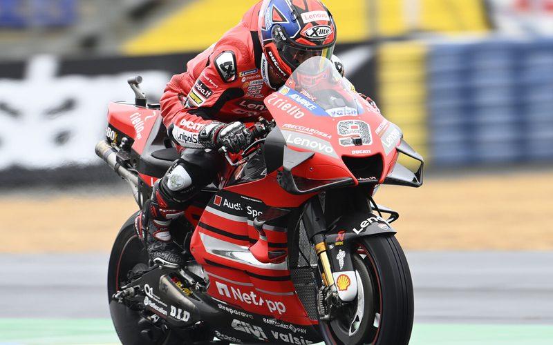 Danilo Petrucci setzte sich in der Regenschlacht von Le Mans durch