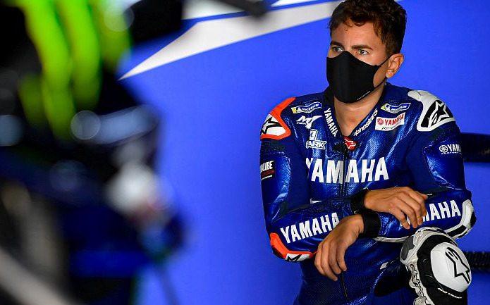 Die 2020er-Yamaha kennt Jorge Lorenzo nur vom Sehen – ob er für Rossi einspringt?