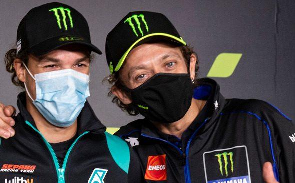 Einst Lehrling und Lehrmeister – 2021 MotoGP-Teamkollegen: Morbidelli und Rossi