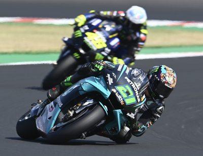 Franco Morbidelli und Valentino Rossi bilden 2021 das Petronas-Yamaha-Team