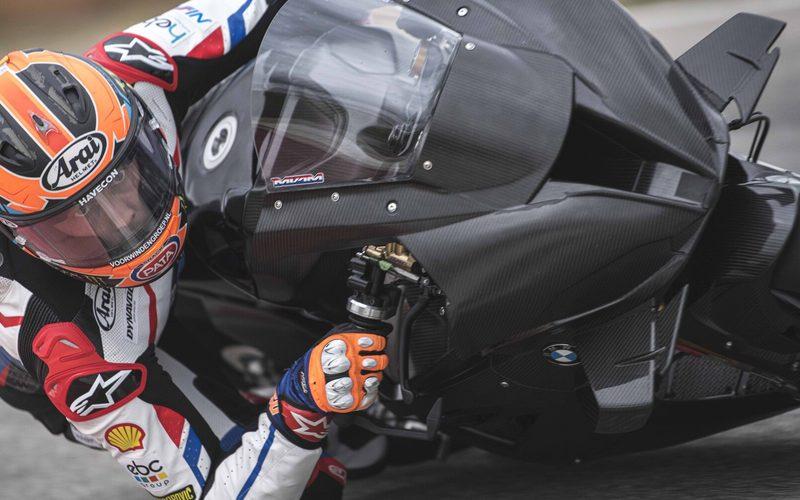 Michael van der Mark beim Shakedown der BMW M1000RR für die WSBK-Saison 2021