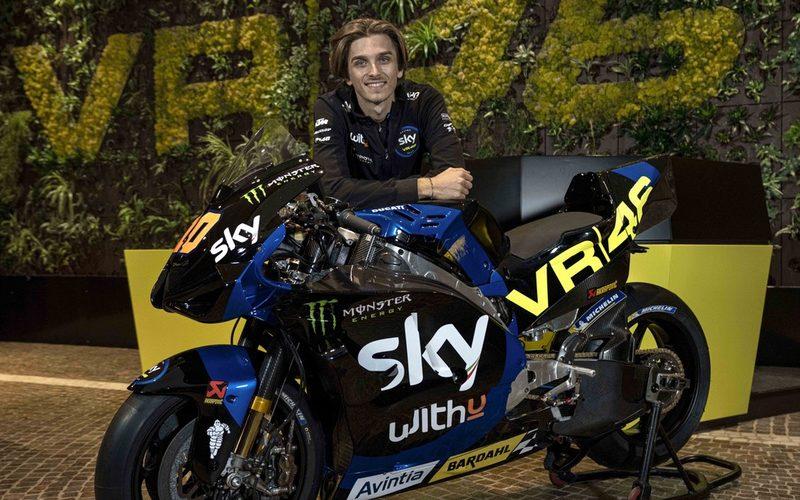 Luca Marini bringt die VR46-Lackierung in die MotoGP