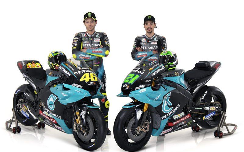 Valentino Rossi und Franco Morbidelli bilden 2021 das Petronas-Yamaha-Team