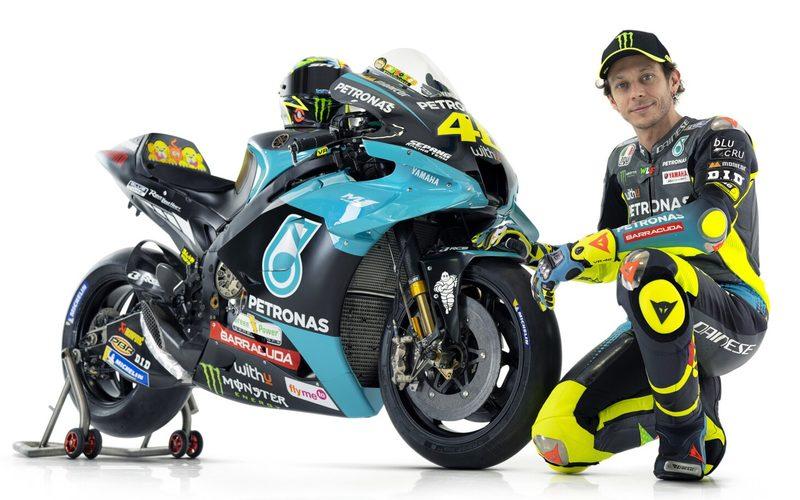 Die neuen Farben von Valentino Rossi im Yamaha-Satellitenteam
