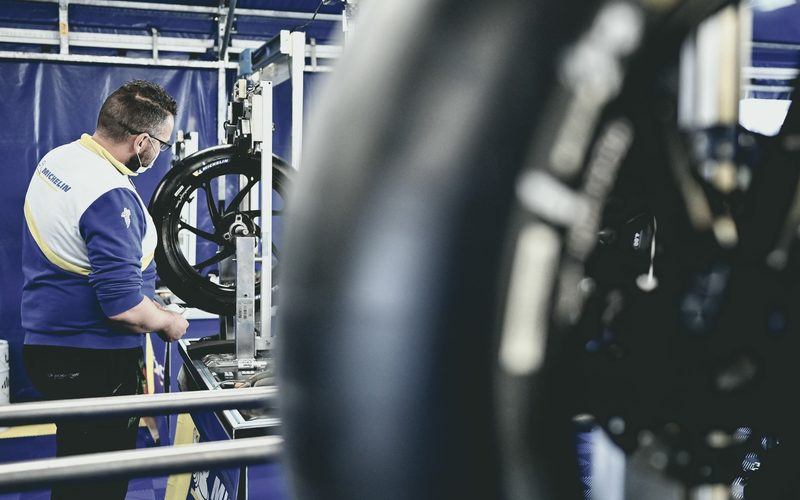 Bein den Michelin-Reifen für 2021 gibt es wieder ein paar Änderungen