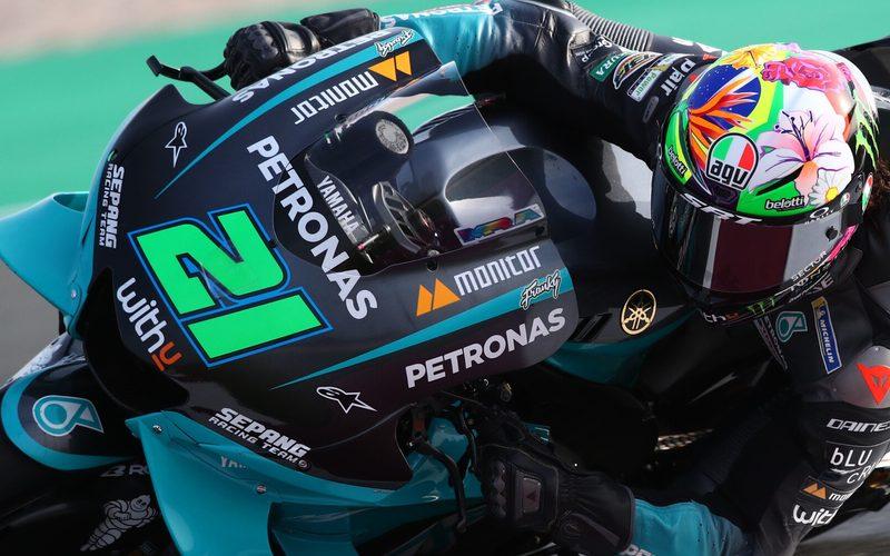 Franco Morbidelli ist mit einer Bestzeit in die MotoGP-Saison 2021 gestartet
