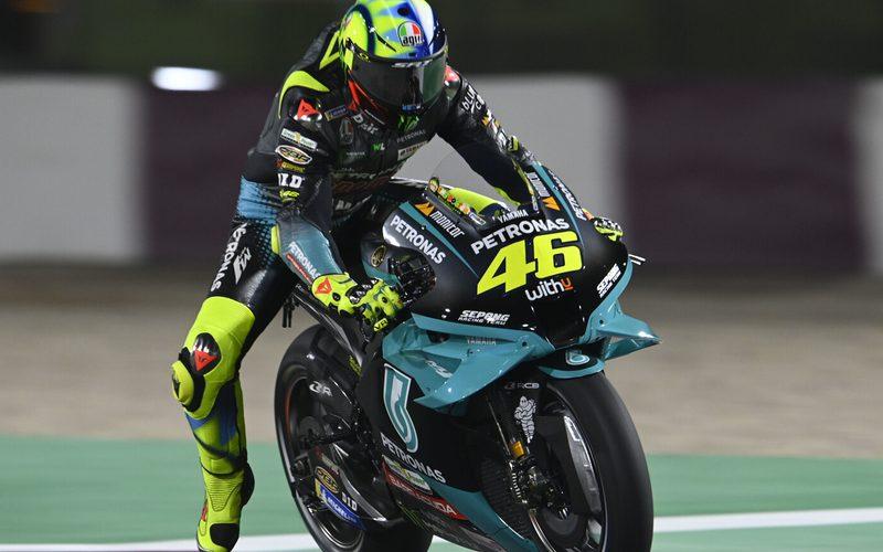 Valentino Rossi hatte weniger als eine halbe Sekunde Rückstand