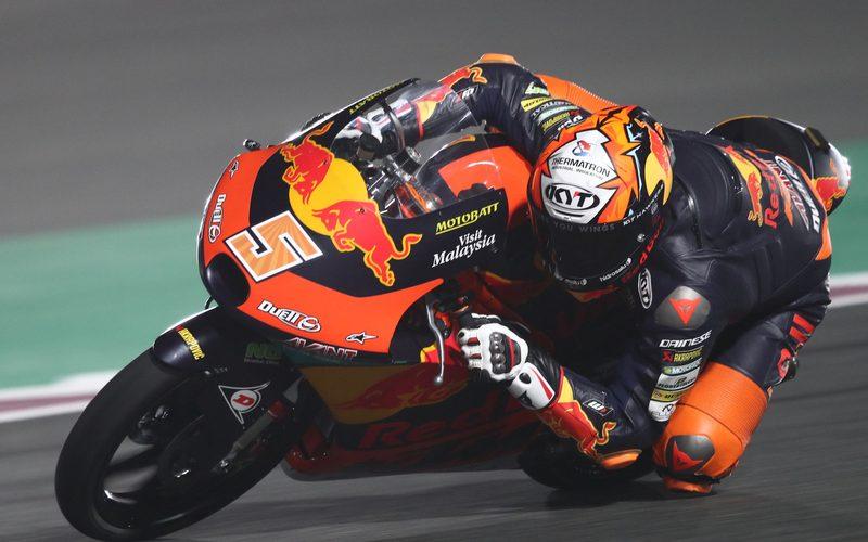 Jaume Masia hat das erste Moto3-Rennen der Saison 2021 für sich entschieden