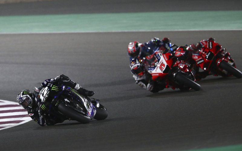 Maverick Vinales schaffte es, die Ducati-Raketen hinter sich zu lassen