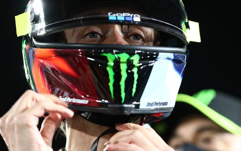 Valentino Rossi war am Samstag mit Abstand langsamster Yamaha-Pilot