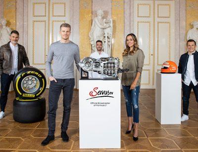 Nico Hülkenberg und Christian Klien als Formel-1-Experten bei ServusTV
