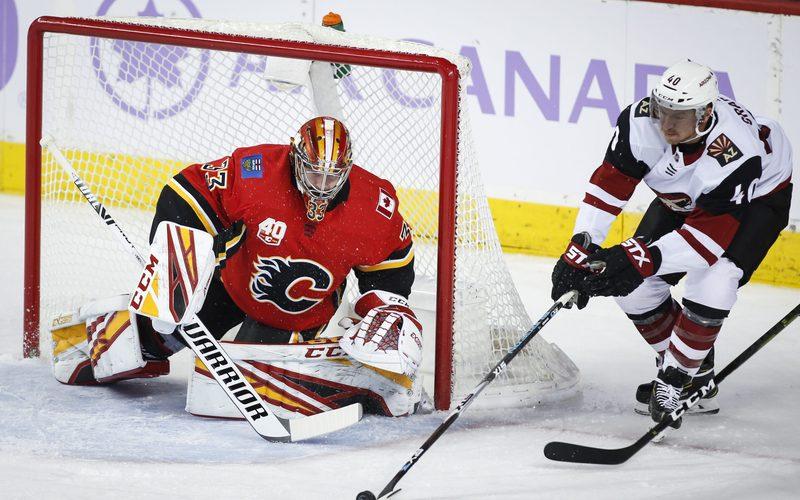 ICE HOCKEY – NHL, Flames vs Flyers