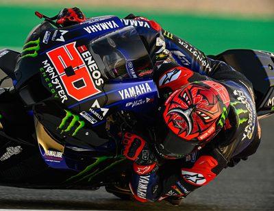 Fabio Quartararo geht in der MotoGP 2021 im Yamaha-Werksteam an den Start.