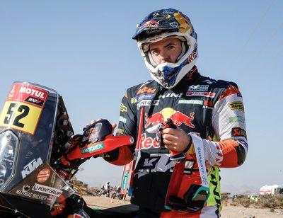"""Nach dem Frust vom Vortag meldet sich Matthias Walkner bei der Rallye Dakar mit einer starken Leistung zurück: """"Ein lässiger Tag"""", freut sich der Salzburger nach dem dritten Teilstück."""