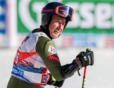 SOELDEN,AUSTRIA,27.OCT.19 - ALPINE SKIING - FIS World Cup season opening, Rettenbachferner, giant slalom, men. Image shows Ted Ligety (USA).