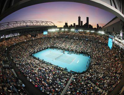 MELBOURNE,AUSTRALIA,27.JAN.20 - TENNIS - ATP World Tour, Grand Slam, Australian Open Image shows Rod Laver Arena