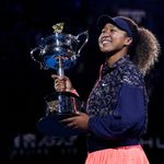 MELBOURNE,AUSTRALIA,20.FEB.21 - TENNIS - WTA Tour, Grand Slam, Australian Open, final, award ceremony. Image shows Naomi Osaka (JPN).