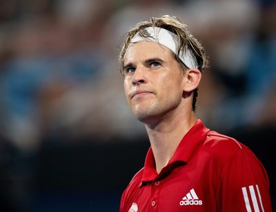 SYDNEY,AUSTRALIA,04.JAN.20 - TENNIS - ATP Cup. Image shows Dominic Thiem (AUT).