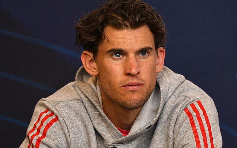 MELBOURNE,AUSTRALIA,05.FEB.21 – TENNIS – ATP Cup. Image shows Dominic Thiem (AUT).