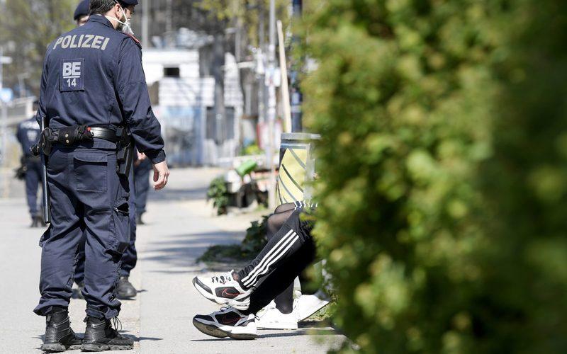 CORONAVIRUS: WIEN – KONTROLLMASSNAHMEN DER POLIZEI AM DONAUKANAL