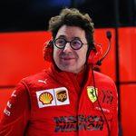BARCELONA,SPAIN,19.FEB.20 - MOTORSPORTS, FORMULA 1 - Circuit de Barcelona-Catalunya, pre-season testing. Image shows team principal Mattia Binotto (Ferrari).