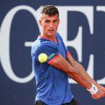 KITZBUEHEL,AUSTRIA,27.JUL.21 - TENNIS - ATP World Tour, Generali Open. Image shows Alexander Erler (AUT).