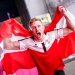 TOKYO,JAPAN,05.AUG.21 - OLYMPICS, CLIMBING - Summer Olympic Games 2020, men, lead. Image shows the rejoicing of Jakob Schubert (AUT).