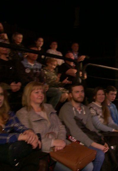 Backstage: Das Publikum
