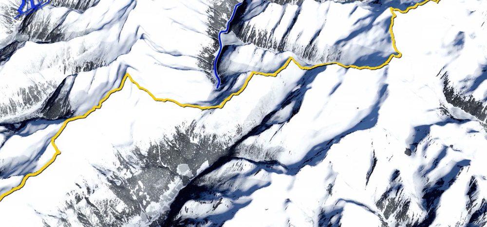 Abenteuer auf Skiern