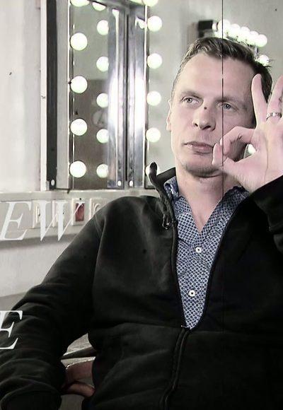 Klaus Eckel sprachlos