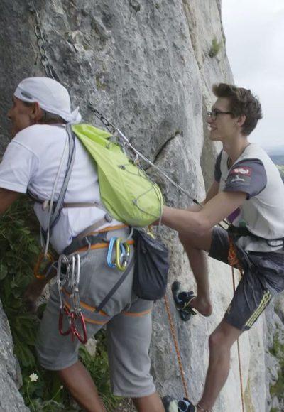 Klettern der Generationen