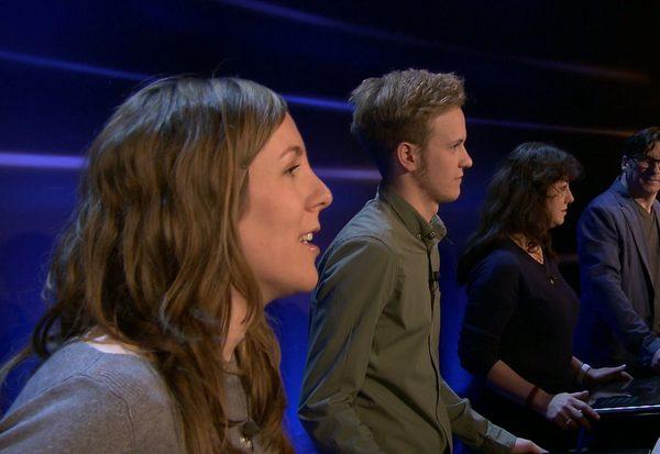 Backstage: Kandidatenprobe