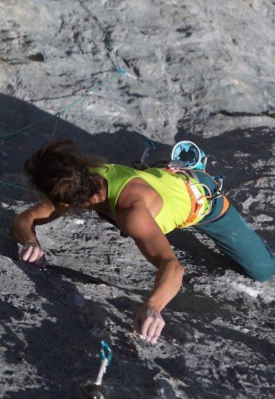 Kletterroute der Extreme