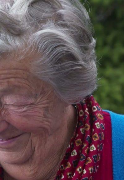 Sennerin mit 97 Jahren