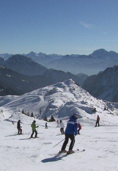 Das Skigebiet Nassfeld