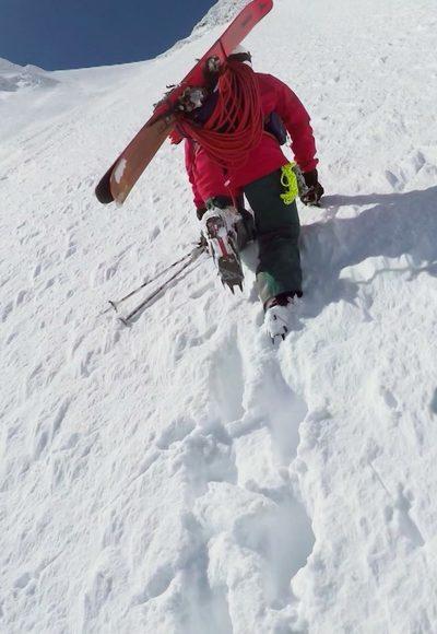 Skiabfahrt entlang der…