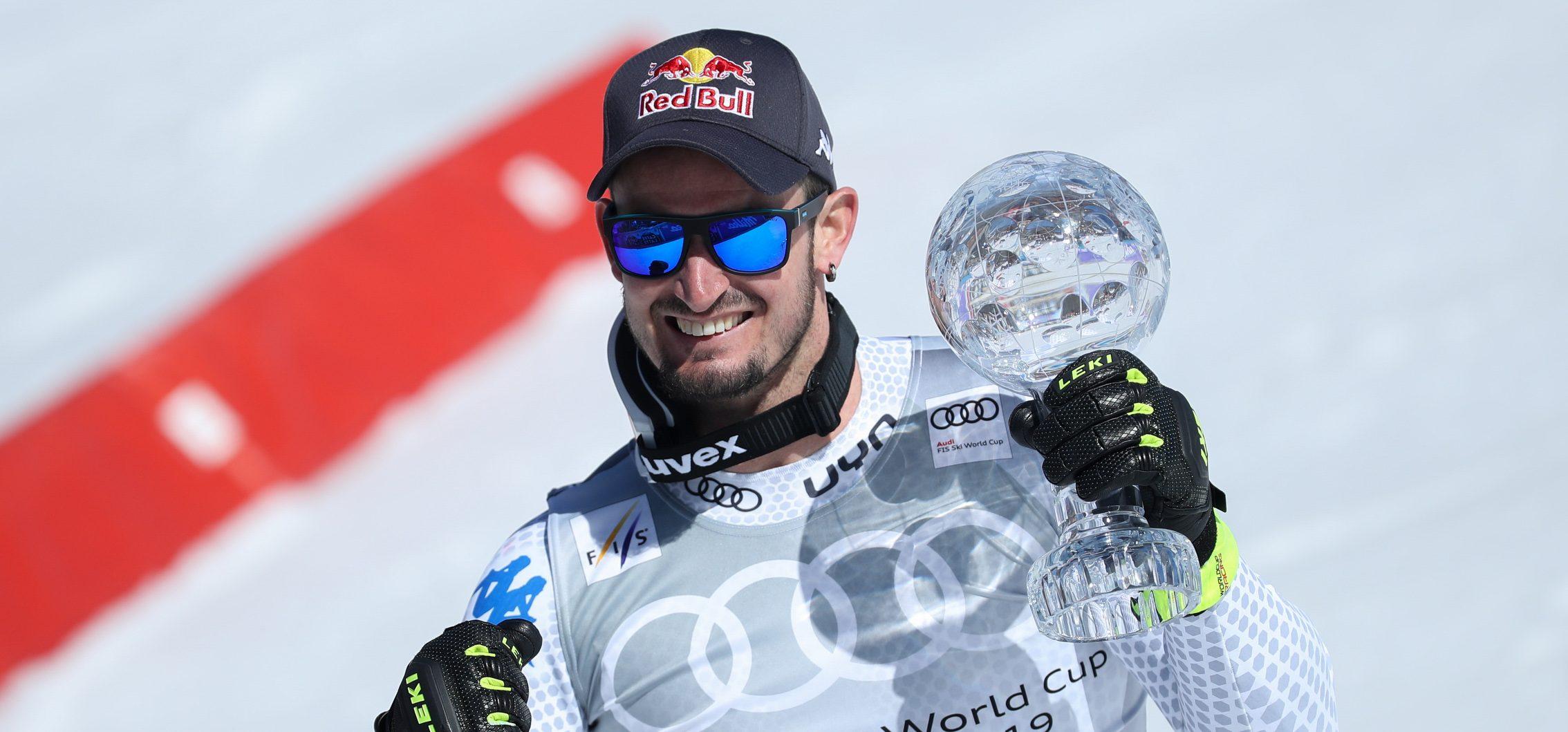 Erste Weltcup-Kugel für Dominik Paris