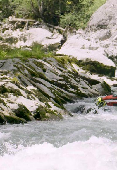 Ab in den reißenden Fluss