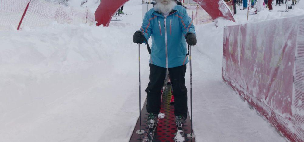 Seit 90 Jahren Skifahrer