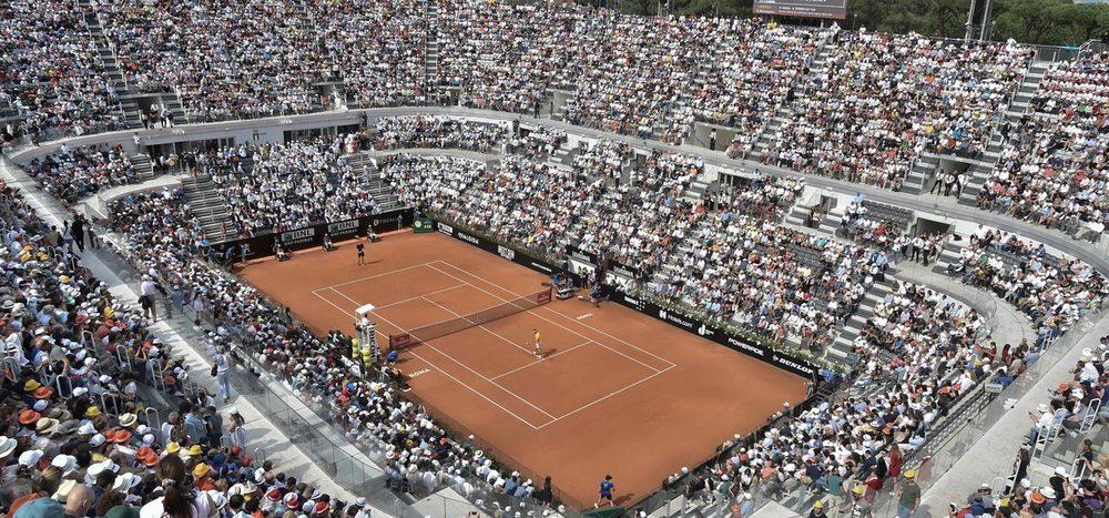 Das Foro Italico: Historische Arena mit österreichischer Erfolgsnote
