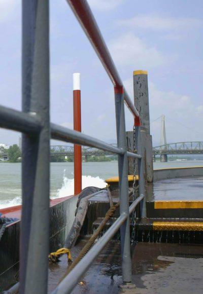 Spezialtransporte im Wasser…