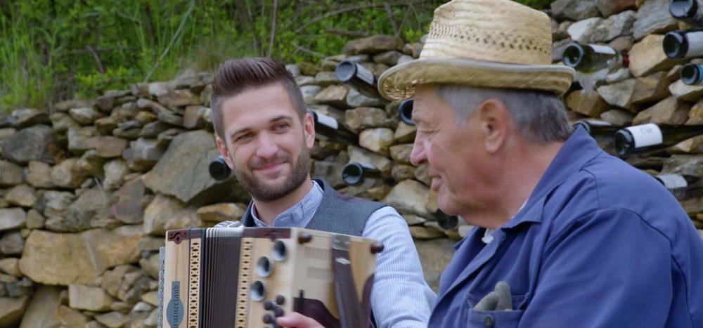 Wachau: Lockere Sprüche