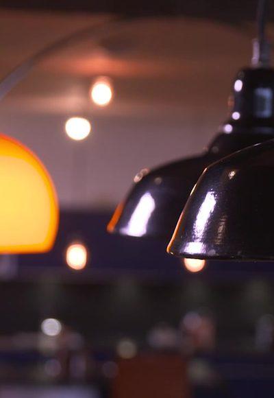 Rostige Lampen