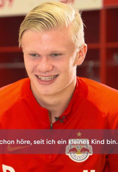 Erling Haaland im Interview