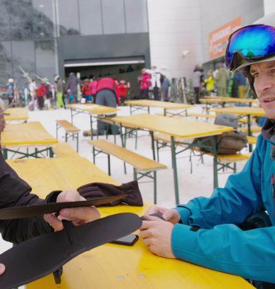 Eine App als Skilehrer
